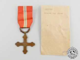 A Second War Norwegian War Cross 1940-1945