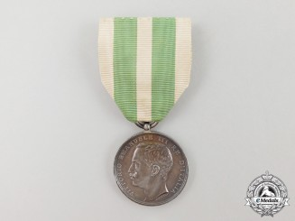 An Italian Commemorative Merit Medal for the Messina Earthquake 1908