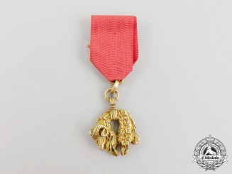 A Miniature Austrian Order of the Golden Fleece, circa 1880