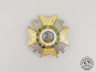 A Spanish Royal and Military Order of Saint Hermenegildo; Breast Star