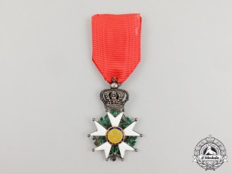 A 1814-1830 French Legion D'Honneur; Second Restoration Knight