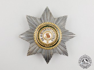 An Imperial Russin Order of St. Stanislaus, Brest Star circa 1840-1850