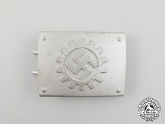 A Third Reich Period RAD (German Labour Front) Belt Buckle