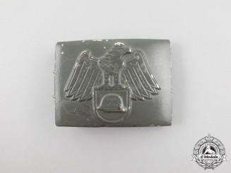 A Third Reich Period Der Stahlhelm Belt Buckle