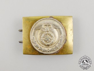 A German SA Enlisted Man's Belt Buckle