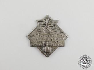 A 1934 Brandenburg/Kurmark Day of Civil Servants Badge