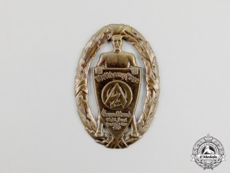 A 1937 SA Group Ostmark Sports Competition Badge