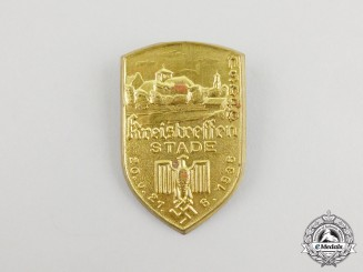A 1936 NSDAP Stade Kreistreffen Badge