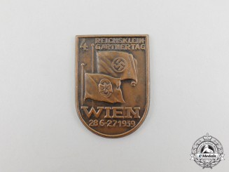 A 1939 Vienna 4th Day of Hobby Gardeners Badge
