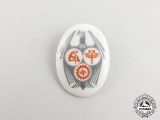 A German NSBO/HAGO/DAF Festival Badge