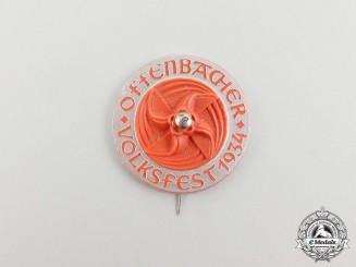 A 1934 Offenbach Folks Festival Badge