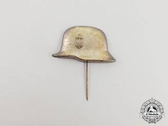 A Third Reich Period Wehrmacht Helmet Stick Pin