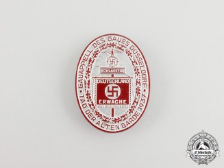 A 1937 Düsseldorf Day of the Old Guard Celebration Badge