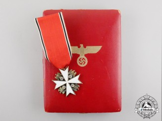 A Fine Quality Cased 1st Class Order of the German Eagle by Godet; Published Example