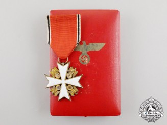 A 3rd Grade Order of the German Eagle by Deschler; Published Example with Case
