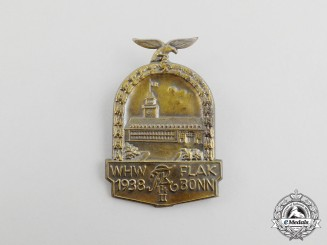 A 1938 WHW Flak 14 Regiment Celebration Badge