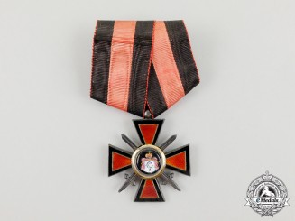 "Russia, Imperial. An Order of St. Vladimir; Military Division; ""Émigré"" type French Made c.1919"