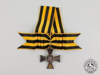 "An Imperial Russian St George Cross for Bravery, ""Émigré"" type French Made c. 1919"