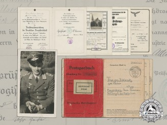 Documents of Brothers in the Luftwaffe; Hans-Ulrich and Heinz-Günther (KIA) von Zabiensky