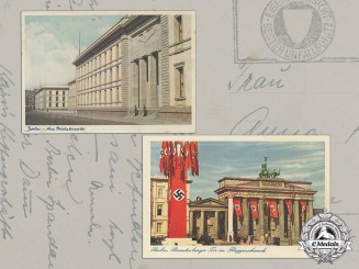 Germany. Two Third Reich Period Picture Postcards