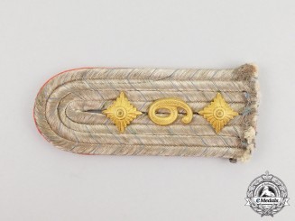 A Single First War Imperial Bavarian Artillery Shoulder Board