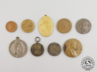 Nine First War German Imperial Medals and Decorations
