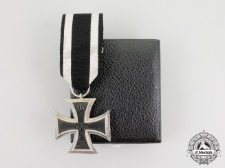 A Franco-Prussian War Iron Cross 2nd Class 1870 with Case