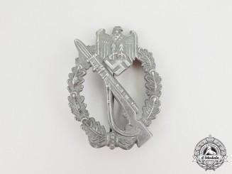 A Second War German Silver Grade Infantry Assault Badge