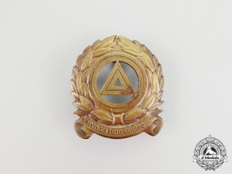 A Rare Second War Fidelity Badge of the Flemish Volunteers in the N.S.K.K.