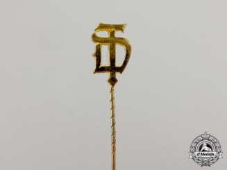 A Third Reich Period German Athletic Association Membership Stick Pin
