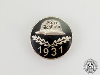 A 1932 Der Stahlhelm Membership Badge