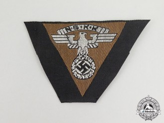 A Mint and Unissued NSKK District Niedersachsen Overseas Cap Patch