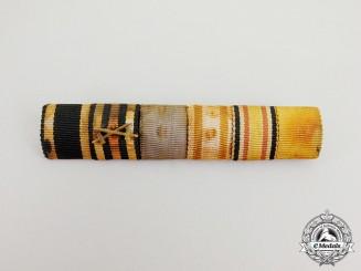 A First War German China Service Medal Ribbon Bar