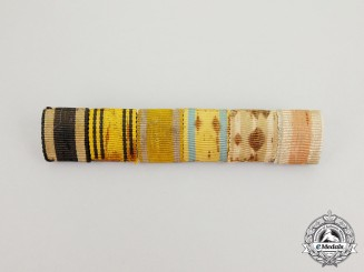 A First War Austrian/German Medal Ribbon Bar Grouping