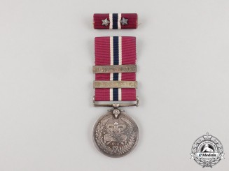 A New Zealand Police Long Service and Good Conduct Medal to Constable C. Snow 1942
