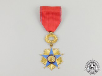 A French Star of Good and Merit Cross, Knight