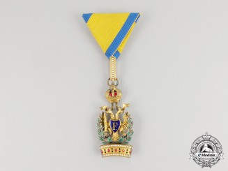 An Imperial Austrian Order of the Iron Crown; Third Class with War Decoration