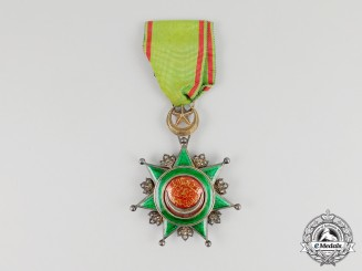 A Turkish Order of Order of Osmania; Breast Badge 4th Class