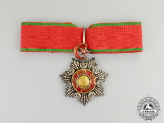 A Turkish Order of Mejidie (Mecidiye); Commander's Neck Badge
