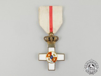 A Spanish Order of Military Merit; 1st Class Breast Cross 1864-1868