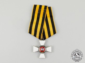 "A Scarce Russian Order of St. George;  ""Émigré"" type French Made c. 1919"