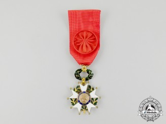 A Third Republic French Order of the Legion of Honour, 4th Class, Officer (1870-1951)