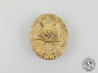 A Second War German Gold Grade Wound Badge