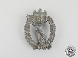 A German Infantry Badge; Silver Grade