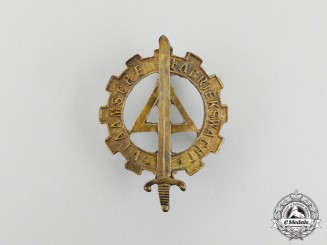 A Rare Second War Flemish Factory Guard Badge