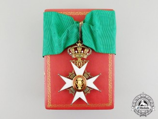 Sweden. An Order of Vasa, Commander's Neck Badge by Carlman
