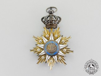 Portugal. An Order of Villa Vicosa; Commander's Neck Badge