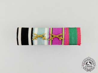 A First War Imperial German Medal Ribbon Bar