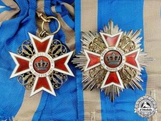 Romania, Kingdom. An Order of the Crown, Civil Division Grand Cross, by Joseph Resch