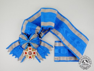 Romania. An Order of the Crown of Romania, Grand Cross, Civil Division, Type I (1881-1932)